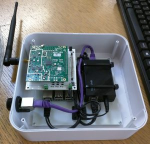 concentrator board inside diy lorawan gateway