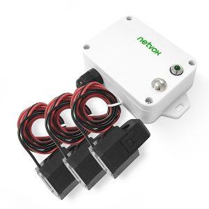Netvox LoRaWAN 3 phase 75A current meter Sensor