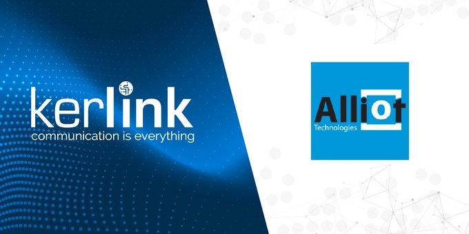 Alliot become Kerlink Gold Partner