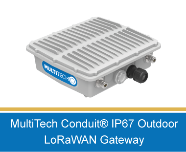 MultiTech LoRaWAN IP67 Gateways