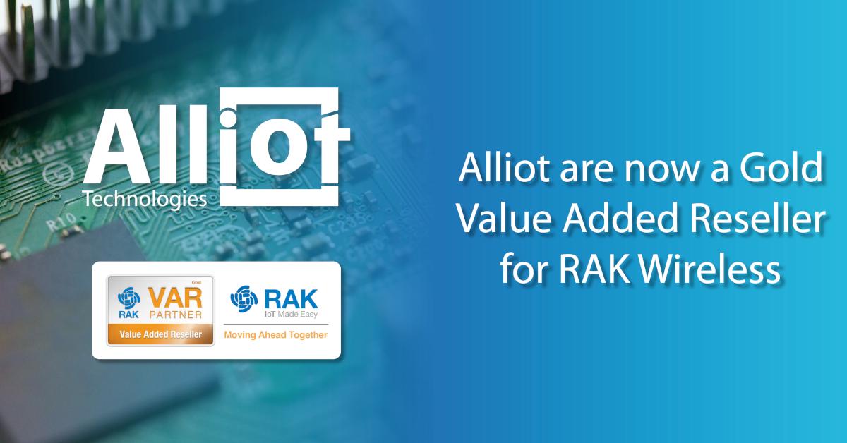 Alliot - RAKwireless Gold Partner